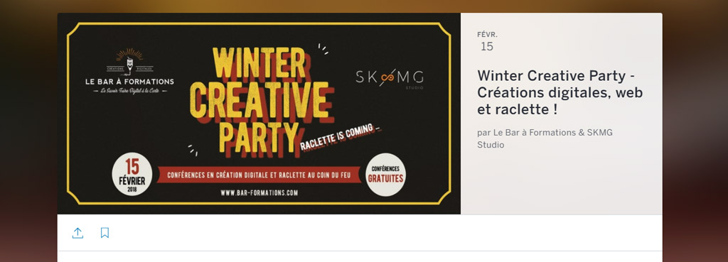 eventbrite - Winter Creative Party Nantes
